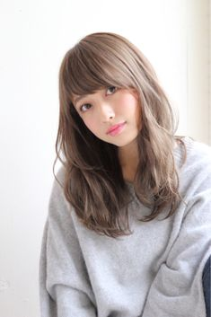 Hair Care Tips and Tricks Hair Color Asian, Asian Hair, Hairstyles With Bangs, Cool Hairstyles, Medium Hair Styles, Long Hair Styles, Hair Arrange, Hair Shades, Shoulder Length Hair