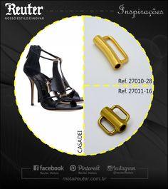 Linha CALÇADO - Enfeite #fashion #moda #metal #metais #metals #style #estilo #concept #conceito #inspiration #inspiração #color #cor #innovation #inovação #quality #qualidade #creativity #criatividade  #footwear #calçado #shoes #inlove
