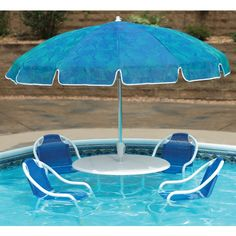 Cool Stuff We Like Here @ CoolPile ------- << Original Comment >> ------- The Swimming Pool Bistro Set - Hammacher Schlemmer