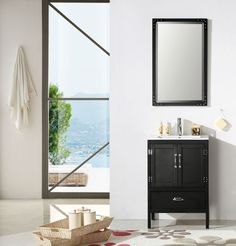 """Legion Furniture 24"""" Single Bathroom Vanity Set WH5624"""