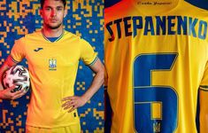 Ukraine 2021/22 Joma Home, Away and Third Kits