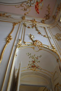 Category:Interior of the Esterházy Palace, Fertőd - Wikimedia Commons Angel Aesthetic, Aesthetic Vintage, Aesthetic Art, Aesthetic Pictures, Baroque Architecture, Beautiful Architecture, Beautiful Buildings, Architecture Design, Memes Arte