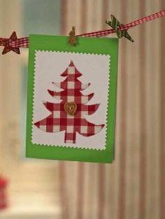 Biglietti di Natale fai-da-te 13