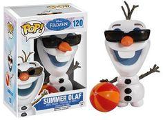 Figurine Pop Olaf été La Reine des neiges - N°120 @ReferenceGming