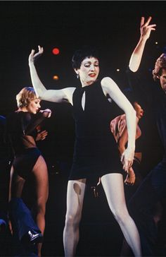 """Danced with Bebe, back in Princeton! ; ) Bebe Neuwirth in """"Chicago"""""""