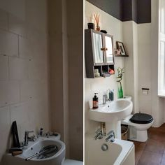 Before And After Bathroom Makeover Under £200