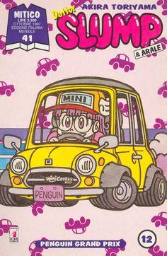 Akira Toriyama's Dr. Slump - Italian Manga Covers (12)