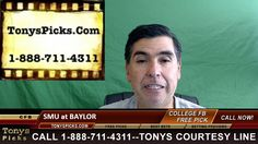SMU Mustangs vs. Baylor Bears Pick Prediction NCAA College Football Odds...