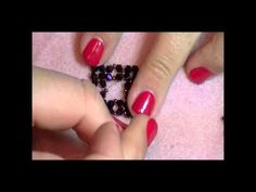gorgeous DIY ring from Kelly Dell; an excellent beading teacher on youtube.