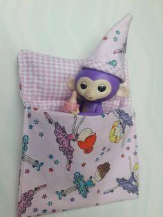Ballerina Fabric Fingerling Monkey Bedding Set