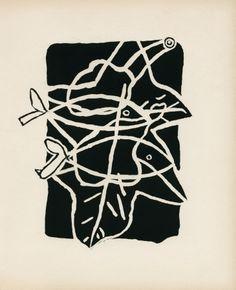 Georges Braque - Le soleil des eaux, 1949