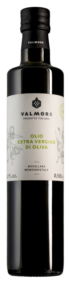Extra Virgin Olive Oil Sicily Valmore Nocellara packaging found on www.valmore.life
