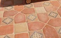 Kötéshálók, textúrák - díszburkolat,térkő,cementlap,kandalló,fedlap,lépcső,lábazat,kőkút Cement Tiles, Tile Floor, Flooring, Antiques, Crafts, Ideas, Home Decor, Antiquities, Antique