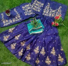 Chitrarekha Ensemble Women Lehenga  Topwear Fabric: Banglori Satin Bottomwear Fabric:Banglori Satin Dupatta Fabric: Net Set type: Lehenga, Choli And Dupatta Top Print or Pattern Type: Embroidered Sizes:  Semi Stitched (Lehenga Waist Size: 46 in, Lehenga Length Size: 46 in,  Lehengha:2.50 mtr, Duppatta Length Size: 2.5 m ,Lehengha Inner::2 mtr Blouse(Choli) :1 mtr) New Lehenga Choli, Picnic Blanket, Outdoor Blanket, Size 2, Satin, Stitch, Summer Dresses, Type, Blouse