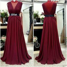Prom Dresses, Formal Dresses, Marsala, Backless, Dresses For Formal, Formal Gowns, Formal Dress, Gowns, Marsala Wine