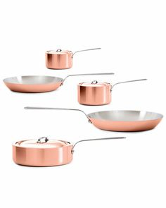 "Some of you have to get in on this: Mauviel ""M'Heritage"" 8pc Cookware Set"