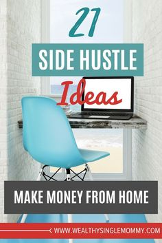 How to make money: 21 side hustle ideas from 82 legitimate websites that show you how to make money from home, make money online, money making ideas, and money making tips. via @johnsonemma