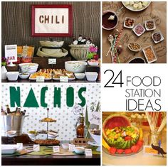 Make your own_____ (food station ideas) - C.R.A.F.T.