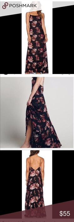 Freepeople star gazing dress So cute on!! Only wore once! Free People Dresses Maxi