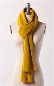 Mustard scarf.  I like this color