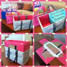Large Utility tote - diy by christinampowers88