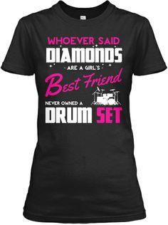 Bass Guitars Are A Girls Best Friend - Order your tee shirt now! 1a34b23fd