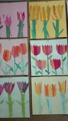 Tulpenbild Painting, Art, Painting Art, Paintings, Kunst, Paint, Draw, Art Education, Artworks