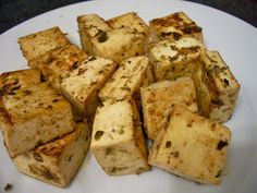 Citrus & Herb Grilled Tofu