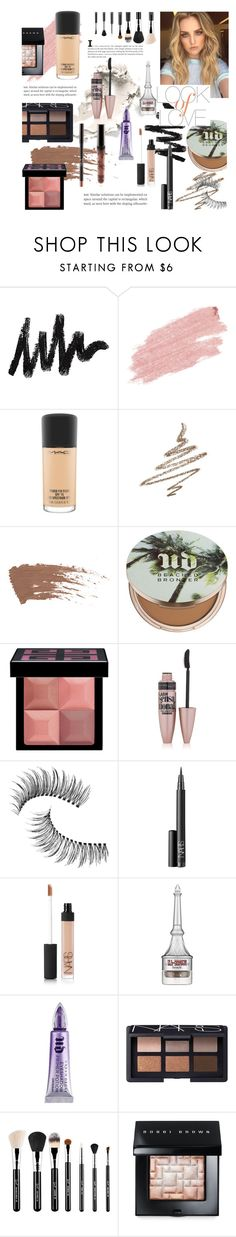 """Summer makeup 💄💜"" by selena-styles-ibtissem23 ❤ liked on Polyvore featuring Jane Iredale, MAC Cosmetics, Anastasia Beverly Hills, Urban Decay, Givenchy, Maybelline, Trish McEvoy, NARS Cosmetics, Benefit and Sigma"