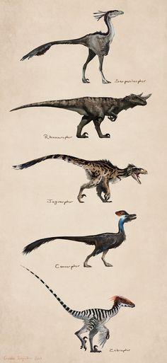Savanna raptors on Behance