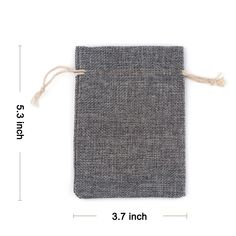 Amazon.com: Yuxier 25pcs Burlap Bags with Drawstring Gift Bags for Wedding Party ,Arts & Crafts Projects, Presents, Snacks & Jewelry,Christmas(5.3*3.7inch) Pack of 25 (Grey): Health & Personal Care
