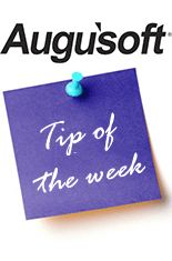 Augusoft Tip of the Week 1/20: Complete your most important tasks first. Develop a list and rank by priority and then start at the top. Being able to multi-task is important, but focus on the task you have selected and your productivity will increase. #continuinged #lifelonglearning #tipoftheweek