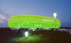 What do the Allianz Arena, the Egyptian pyramids and the statue of Christ in Rio de Janeiro have in common? They all rank among the global landmarks that will be illuminated in green on St. Patrick's Day.