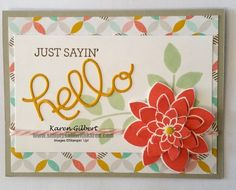 Just Sayin' by kaygee47 - Cards and Paper Crafts at Splitcoaststampers