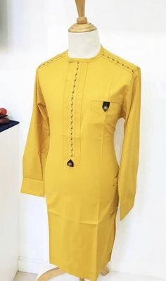 African Wear Styles For Men, African Shirts For Men, Ankara Styles For Men, African Attire For Men, African Clothing For Men, Nigerian Men Fashion, African Men Fashion, Long African Dresses, Mens Fashion Suits