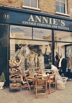 Annie's | London With its amazing collection of quirky dresses, Annie's vintage clothes shop in Islington's Camden Passage knocks spots off most of the vintage clothing stores in London.