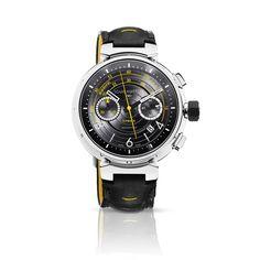 Tambour Chronograph Volez II via Louis Vuitton