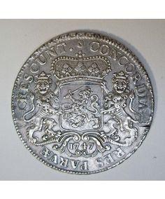 Utrecht, zilveren rijder 1747 Old Coins, Utrecht, Bento, Aliens, Coin Purse, Island, Money, History, Silver