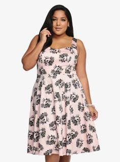 Skull Swing Dress - Can NEVER have enough skulls in my closet!!
