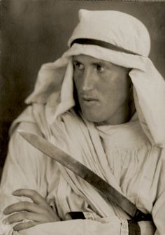 Lawrence d'Arabie, 1925, photo: Lotte Jacobi