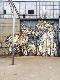 """DZIA unveils """"Brothers"""", its latest mural in Turin, Italy"""