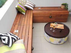 Фото из статьи: 5 отличных идей, которые помогут сделать балкон удобным