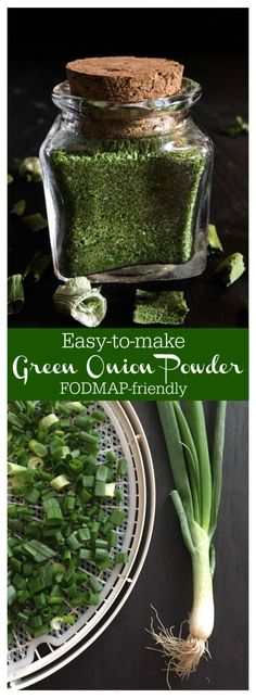 easy way to add FODMAP-friendly flavor to your meat, sauces, dressings and seasonings!An easy way to add FODMAP-friendly flavor to your meat, sauces, dressings and seasonings! Homemade Spices, Homemade Seasonings, Fodmap Recipes, Fodmap Foods, Dehydrated Food, Dehydrator Recipes, Spice Mixes, Spice Blends, Seasoning Mixes