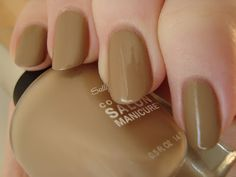Sally Hansen Soy Latte - Tracy Reese Spring '13 *click for more*