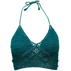 Crochet Halter Tank Top on Sale for $16.95 at HippieShop.com ($17) ❤ liked on Polyvore featuring tops, shirts, crop tops, tank tops, halter crop top, halterneck top, crochet halter top, halter shirts and macrame top