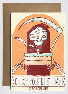 Image of 'Enjoy Your Birthday' Card