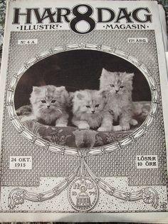 Hvar 8 Dag - Swedish magazine c. 1916 by Barrie Sutcliffe, via Flickr