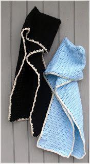 Hood Scarf Crochet Pattern