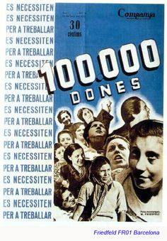 Spain - 1936-39. - GC - poster - autor: Fried-Feld