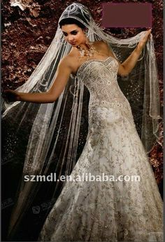 Arabic wedding dress...ya know ...just in case